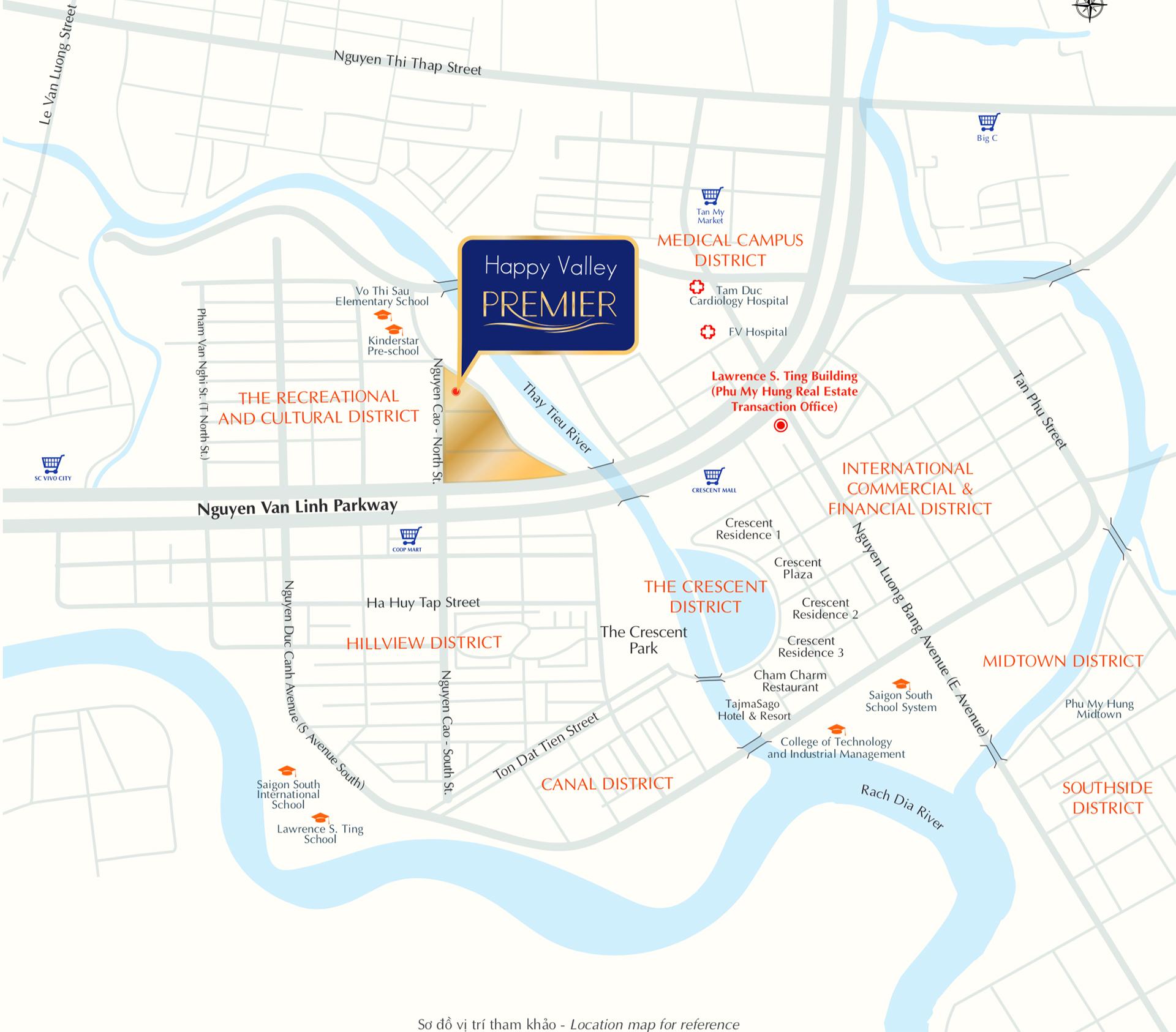 Dự án căn hộ chung cư Happy Valley Phú Mỹ Hưng Quận 7
