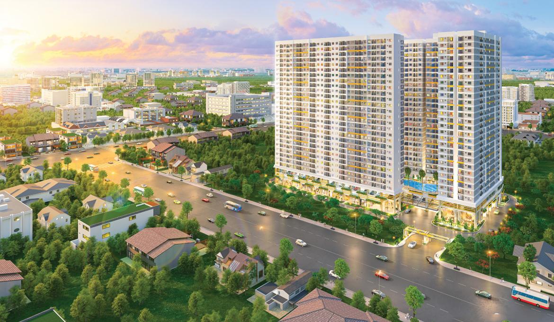 Dự án căn hộ Diamond Tower Dĩ An, đường Lê Hồng Phong, Bình Dương