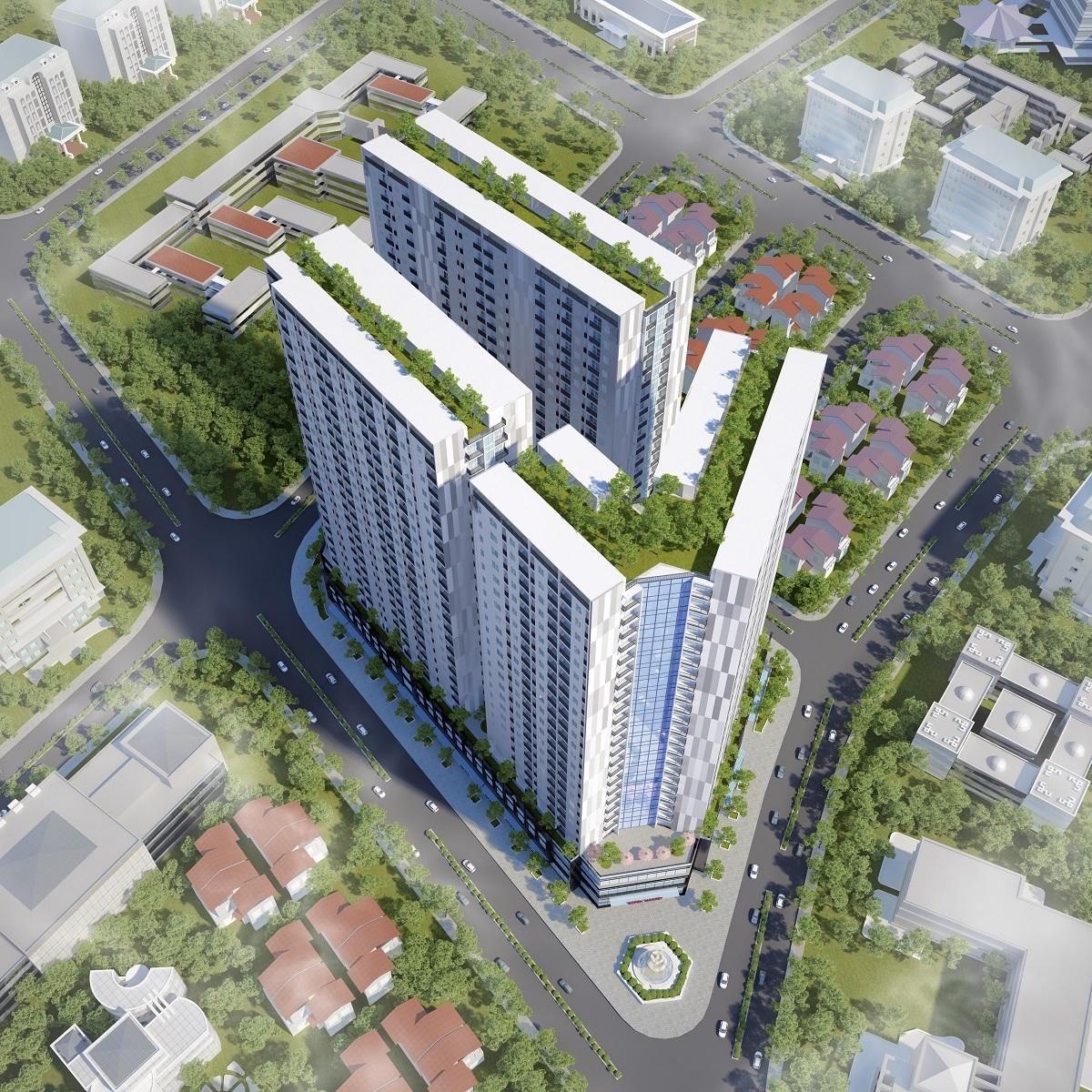 Chung cư Nhà ở xã hội P.H Nha Trang