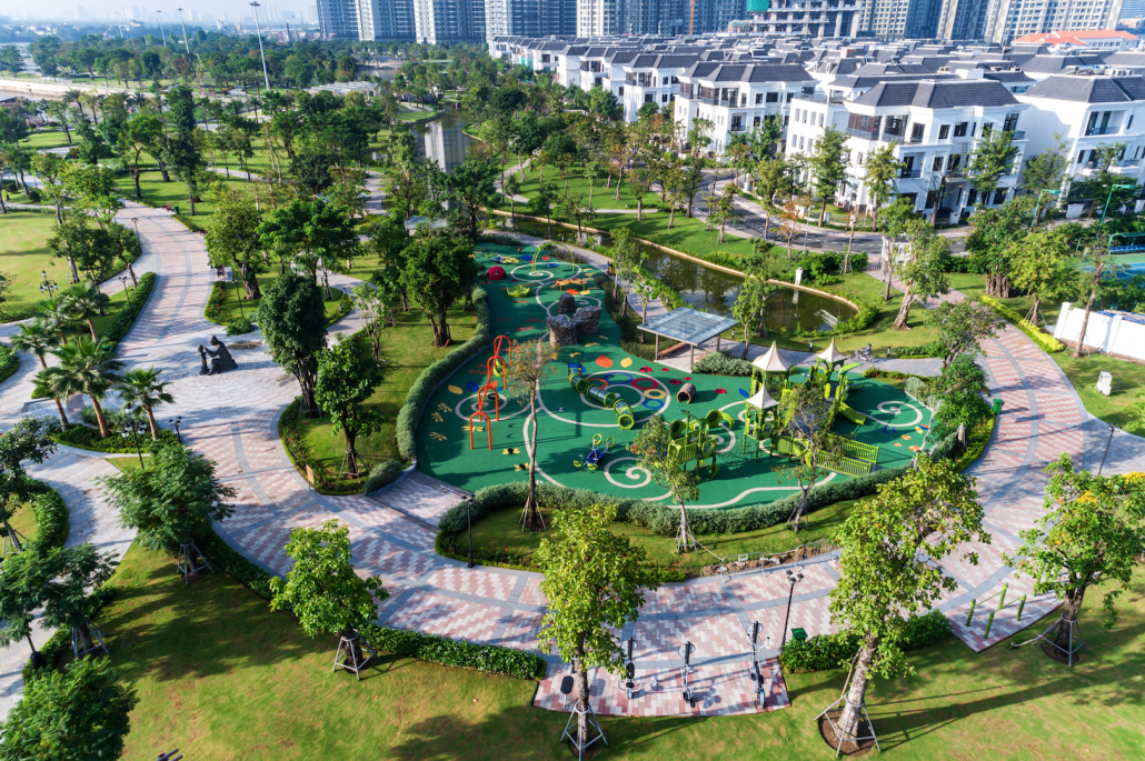 Biệt thự Vinhomes Center Park Nguyễn Hữu Cảnh Quận Bình Thạnh