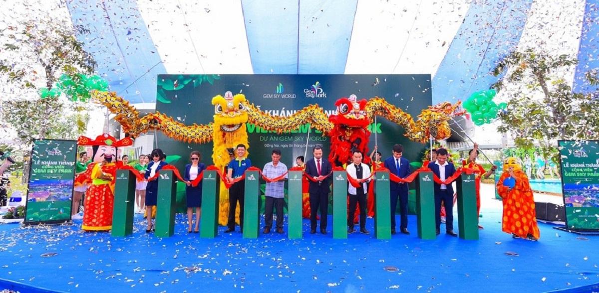 Long Thành đón công viên giải trí Gem Sky Park 3ha
