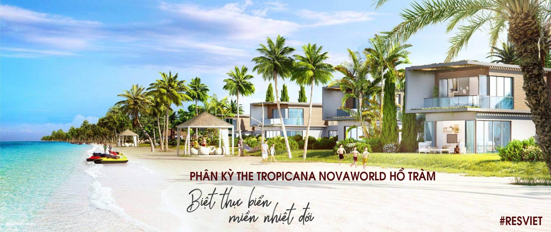 Dự án khu đô thị Novaworld Hồ Tràm Bình Châu, Xuyên Mộc, Bà Rịa Vũng Tàu - Novaland