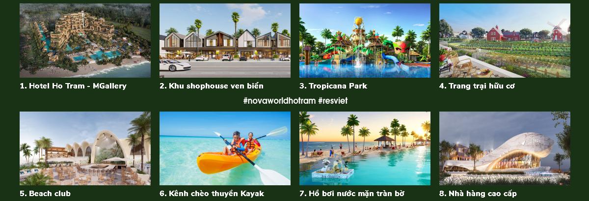 The Tropicana Hồ Tràm - Phân kỳ The Tropicana Novaworld Hồ Tràm