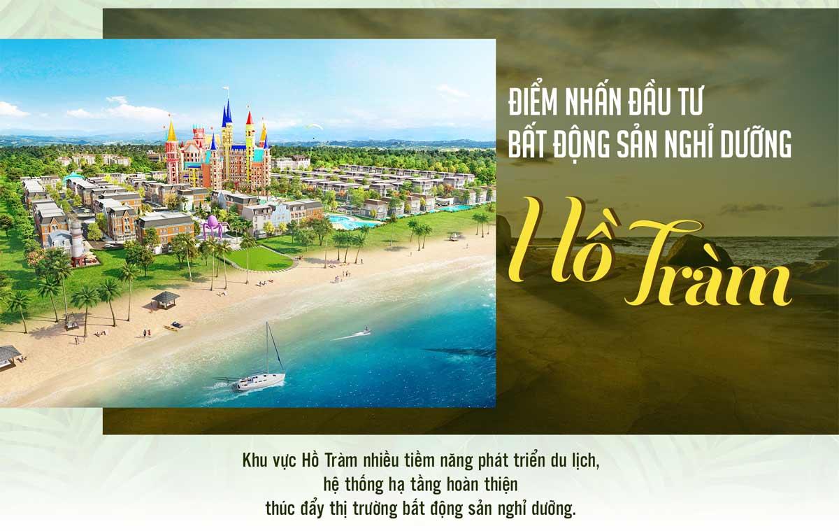 Tiềm năng phát triển bất động sản tại Hồ Tràm, Bình Châu, Bà Rịa