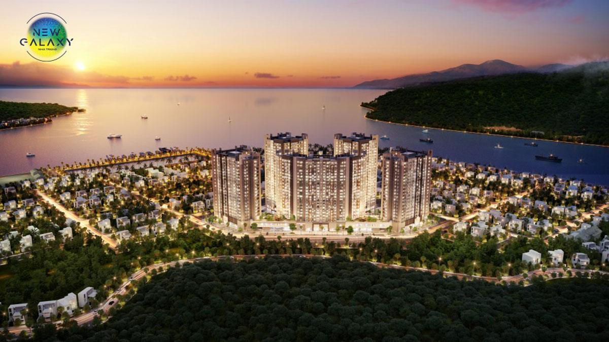 Phối cảnh dự án căn hộ New Galaxy Nha Trang