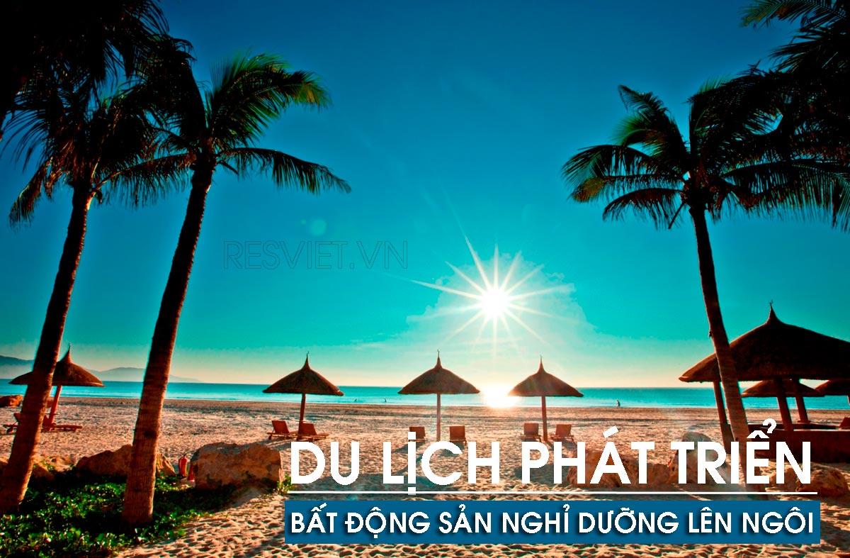 Du lịch biển Nha Trang rất phát triển, có nhiều lợi thế lớn